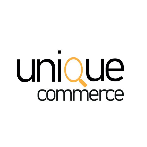 Logo Unique Commerce réalisation service création de site web INCORP Belgium